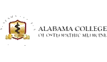 Alabama College of Osteopathic Medicine Logo