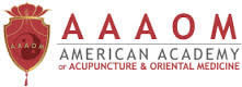 Logo of American Academy of Acupuncture and Oriental Medicine