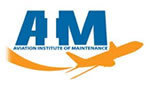 Logo of Aviation Institute of Maintenance - Houston