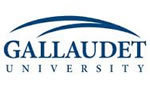 Logo of Gallaudet University