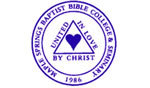 Logo of Maple Springs Baptist Bible College and Seminary