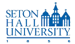 Logo of Seton Hall University