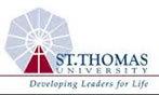 Logo of St Thomas University