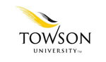 Logo of Towson University