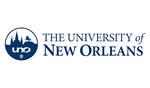 Logo of University of New Orleans
