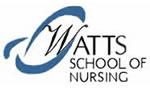 Logo of Watts School of Nursing